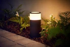 outdoor lights philips hue reveals products in outdoor lighting range