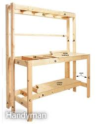 workbench with pegboard and light how to build a diy workbench super simple 50 bench bench 50th
