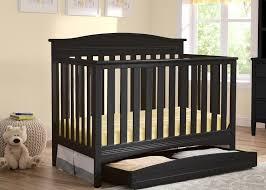 Delta Canton 4 In 1 Convertible Crib Black Baker 4 In 1 Crib Delta Children