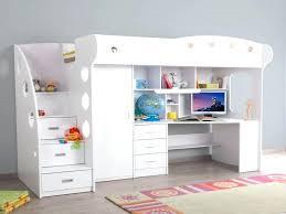 lit mezzanine enfant avec bureau lit superpose rangement lit mezzanine enfant avec bureau et