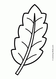 coloring pages of leaf shapes coloring pages leaf shapes best of page tree with leaves 8 for girls