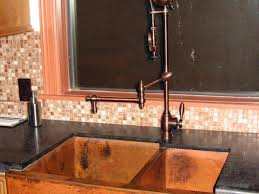 kitchen faucet wonderful copper faucet kitchen bellevue bridge