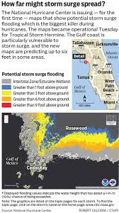 Where Is Palm Harbor Florida On The Map by New Storm Surge Maps Debuted With Tropical Storm Hermine
