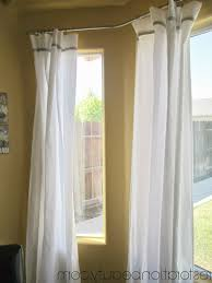 Double Curtain Rod For Bay Window Window Treatments Double Bay Window Curtain Rod Design