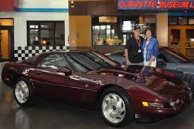 1993 corvette 40th anniversary ncm sinkhole corvettes 1993 ruby 40th anniversary