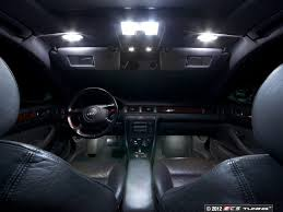 ecs news audi c5 a6 rs6 led interior lighting kits