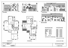 4 bedroom house blueprints hill 4 bedroom house design timber frame