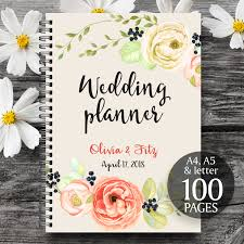 wedding organizer book printable wedding planner gold wedding planner
