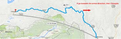 Map Of Nepal And Tibet by Overland Tour From Lijiang Yunnan To Lhasa Tibet