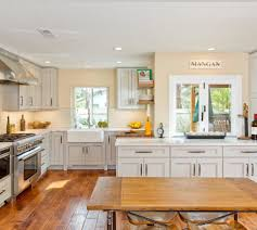 kitchen elegant kitchen design with cozy laminate wood flooring bellmont cabinets for inspiring kitchen cabinet storage ideas elegant kitchen design with cozy laminate wood