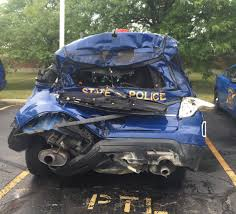 dramatic video released of i 696 state trooper injury crash video