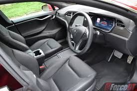 Tesla Interior Model S 2017 Tesla Model S P90d Review