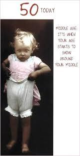 humorous 50th birthday card
