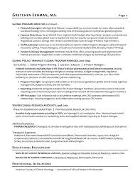 Project Manager Resume Samples And by Resume Examples Objective Resume Examples And Free Resume