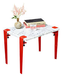 martha stewart end tables 2 steps that s all it takes to make this marble end table