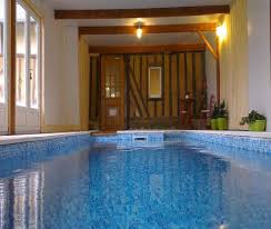 chambre avec normandie location normandie avec piscine couverte maison chauffee 40254 1