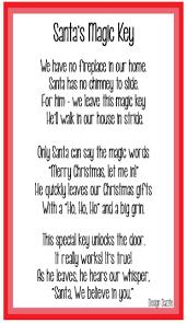 santa key magic key for santa free printable design dazzle