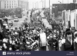 st patrick u0027s day march birmingham 16th march 1969 stock photo