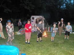Flute Flag July 2015 Camp Fire