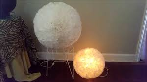 Japanese Rice Paper Lamp Shades by Diy Paper Lantern Flower Coffee Filter Youtube