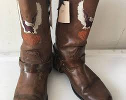 womens harley davidson boots size 12 s motorcycle boots etsy