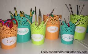 diy painted ikea candle holders with silhouette vinyl labels