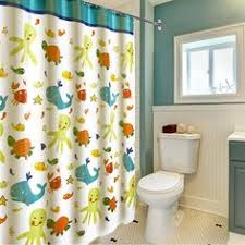 Baby Bathroom Shower Curtains by Amazon Com Latest Style Children Cartoon Shower Curtain Wimaha