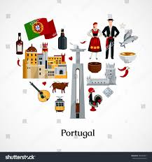 cuisiniste au portugal flat design icon form portugal stock photo photo vector