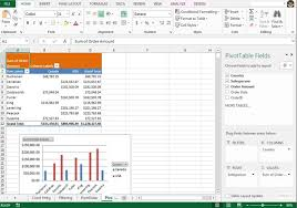 Exle Of Data Analysis Report by Ms Excel 2016 Data Analysis With Pivottables