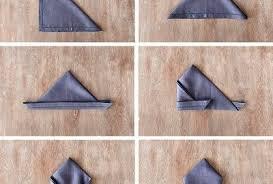 Decorative Napkin Folding 28 Napkin Folding Techniques That Will Transform Your Dinner Table