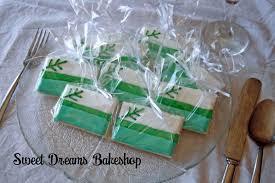 Wedding Flag Wedding Cookie Favours Sweet Dreams Bakeshop Saskatoon