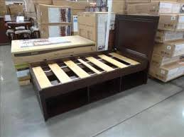 twin bed frame twin bed frame building plans youtube