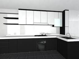 White Kitchen Cabinet Design Black And White Kitchen Cabinets Home Design Ideas And Pictures