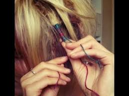 boho hair wraps how to do a hair wrap with string