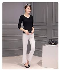 maternity work clothes high waist maternity for work plus size flare trousers