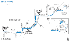 Seattle Public Transportation Map by Schedules
