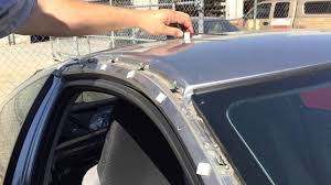 honda accord front windshield replacement honda insight windshield moulding roof pillar garnish removal
