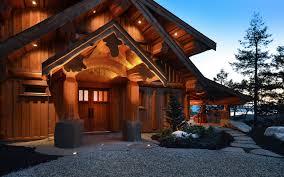 post and beam u2013 west coast log homes
