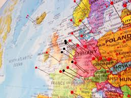 World Map With Pins by Dominik S Worldwide Would You Like To Use This Picture G U2026 Flickr