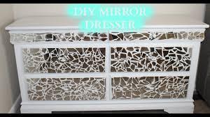 Mirror Dresser Diy Mirror Dresser Under 100 Youtube