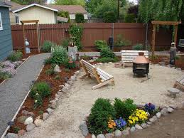 Easy Backyard Landscaping Ideas Backyard Landscaping On A Budget Charming Idea Budget Backyard