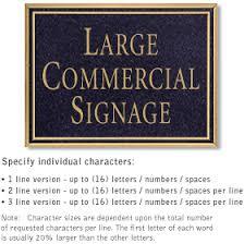 commercial plaques signs address plaques