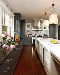 two tone kitchen cabinets trend two toned kitchen cabinets canadagoosesale me