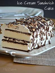 super easy ice cream sandwich cake recipe sandwich cake super