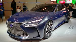 lexus lf lc play station 2016 são paulo international motor show riches guide