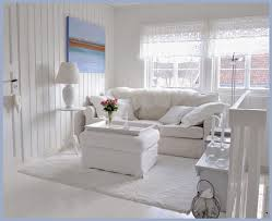 Window Valances For Living Room Living Room Pure White Shabby Chic Interior With Fur Sofa