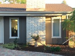 choosing exterior colors for a 1970 u0027s ranch house perfectly