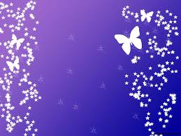 purple background with butterflies u2013 free ppt backgrounds