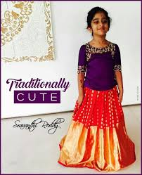 83 best kids lehengas images on pinterest blouse designs indian