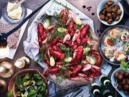 ikea will host a crayfish buffet celebrate summer
